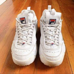 Used Fila Disrupters II Sneakers